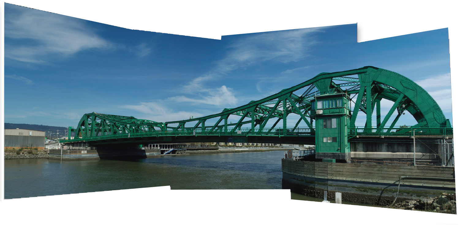 Panoramic image with Photomerge