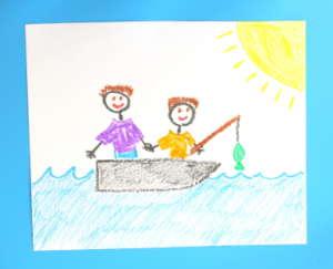 Children's Artwork Portraits become Masterpieces