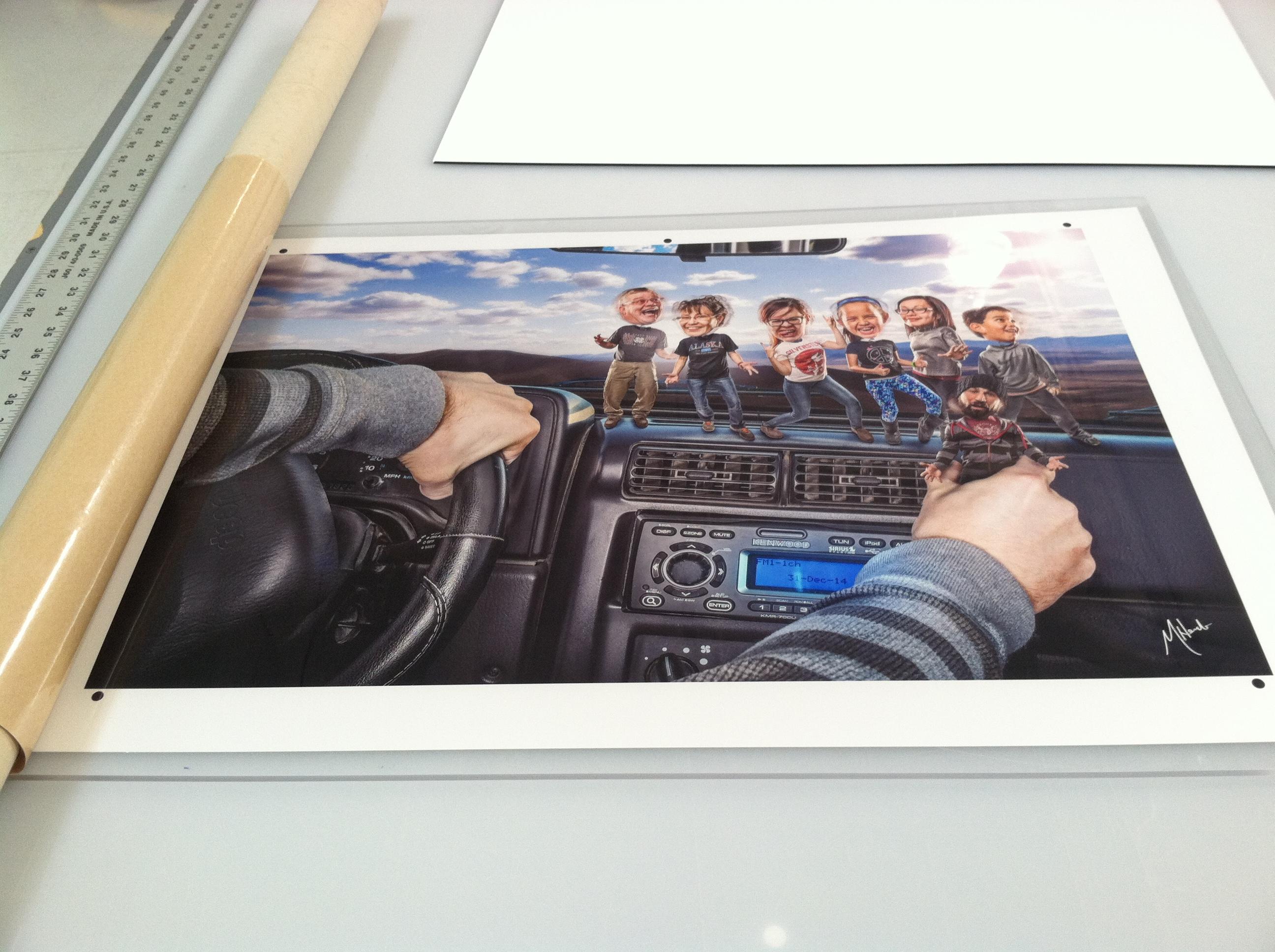 acrylic print mounting