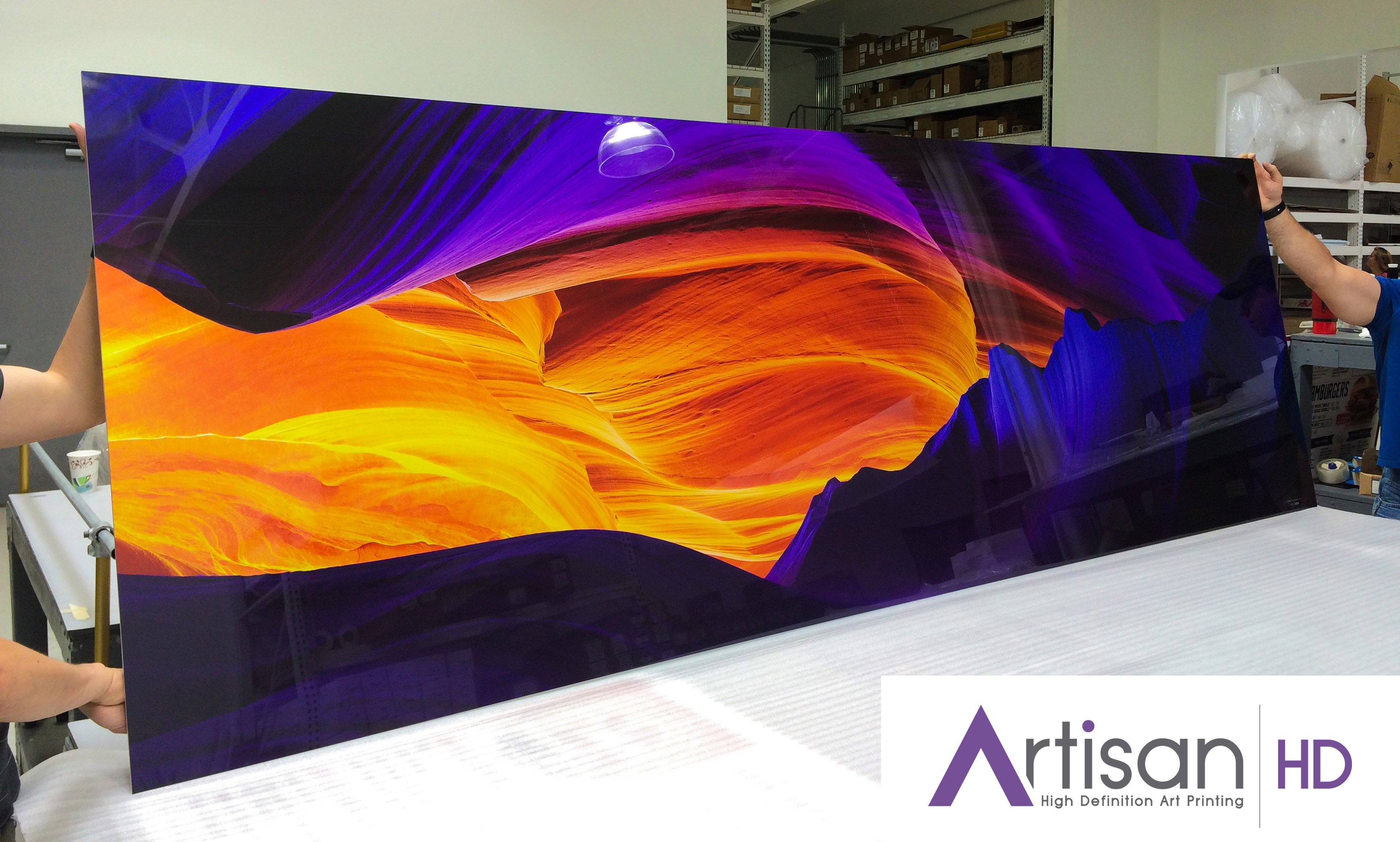 acrylic mount fujiflex hd photographic print