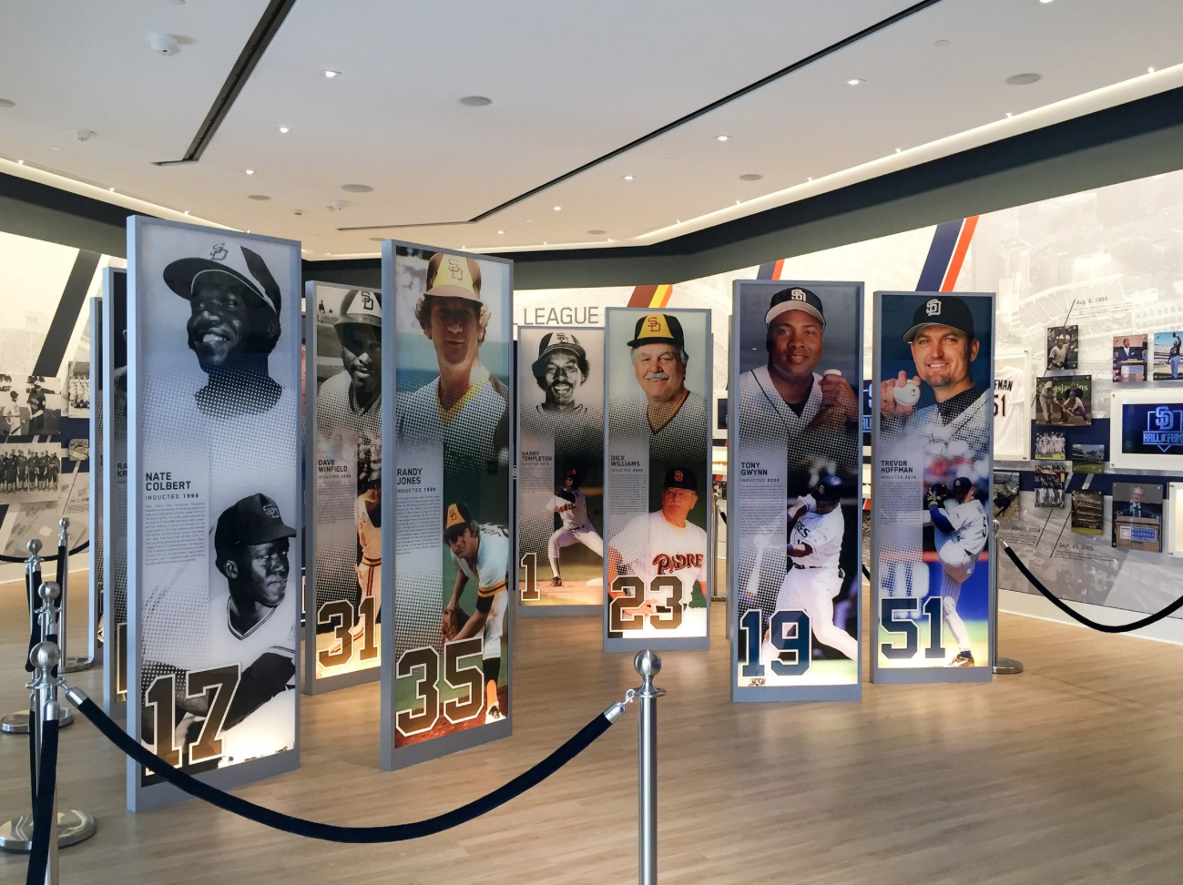 Large Format Digital Printing for Padres Hall of Fame