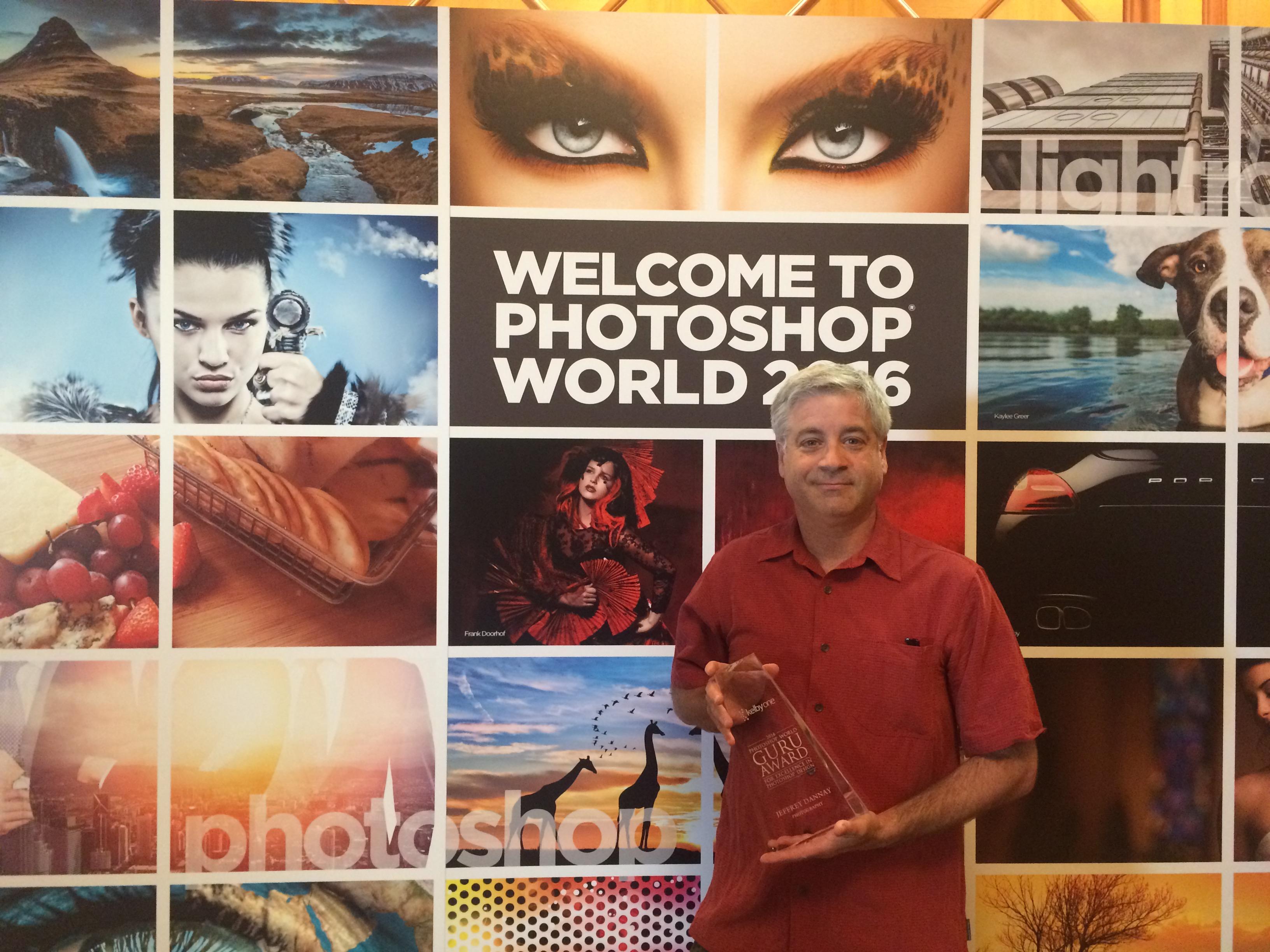 Guru Award winner at Photoshop World 2016