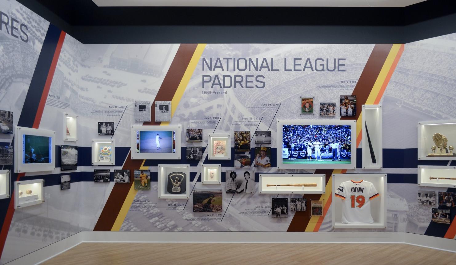 ArtisanHD provides Large Format Digital Printing for San Diego Padres Hall of Fame