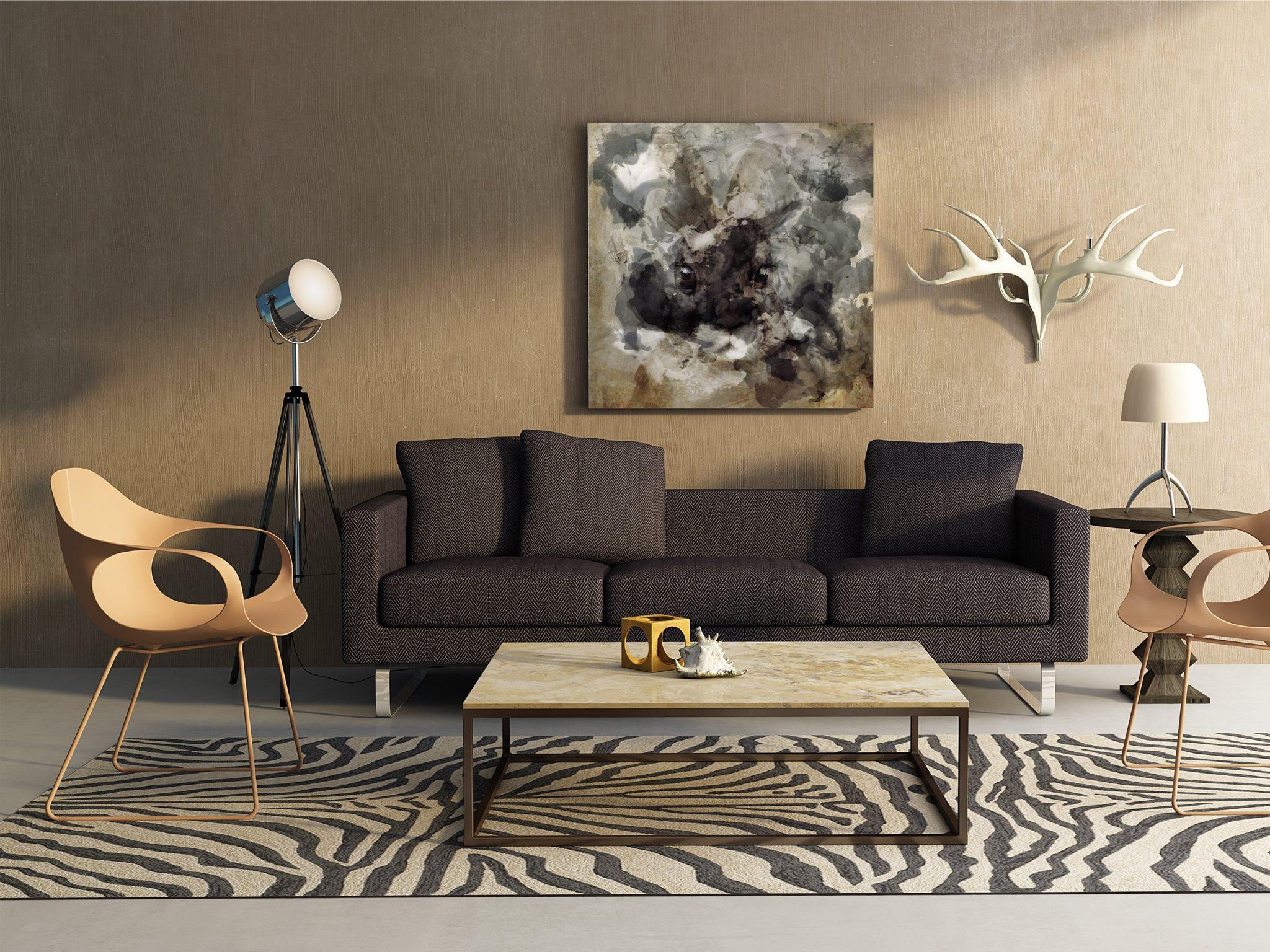 ArtBoja Custom Art Prints in the Den