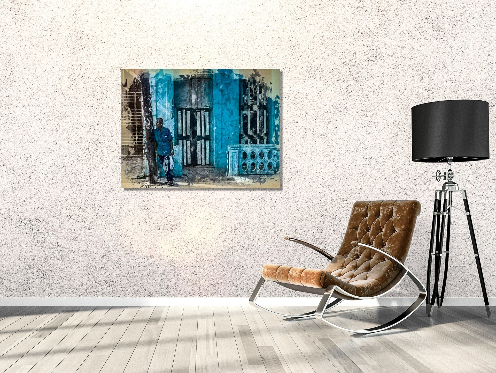 ArtBoja Room Accented with a Custom Wall Decor Print