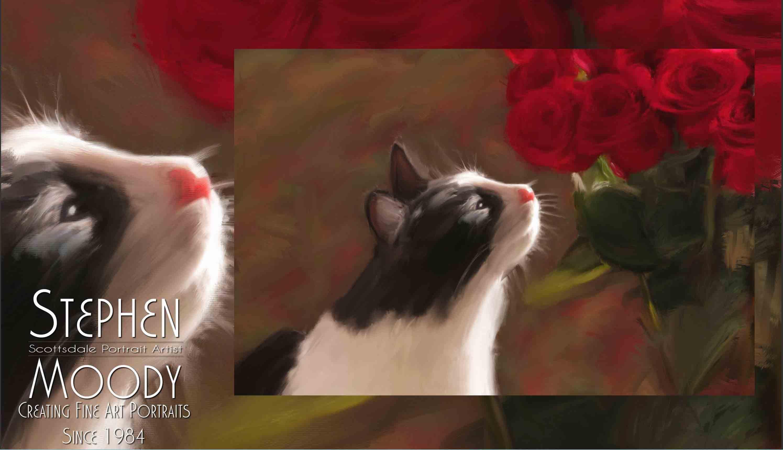 Stephen Moody's Unique Pet Portraits