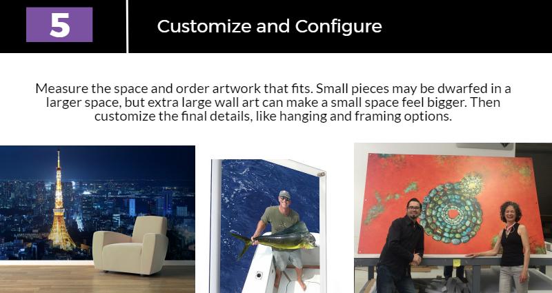Customize and configure your custom wall art decor