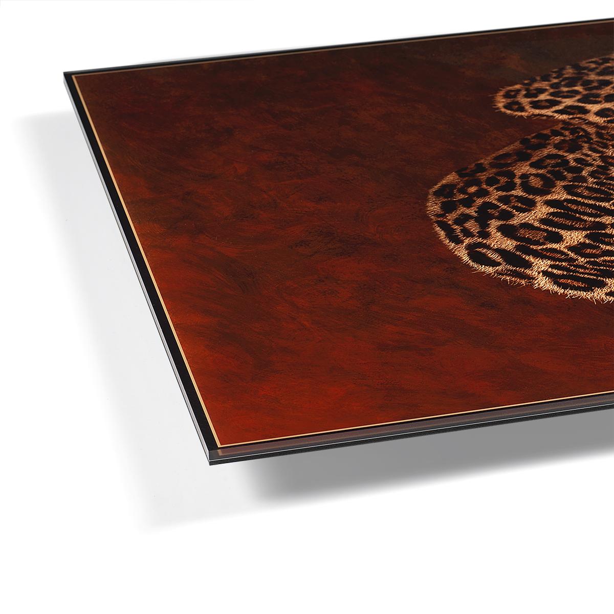 Encapsulated Print Edge of Acrylic Print Encapsulation