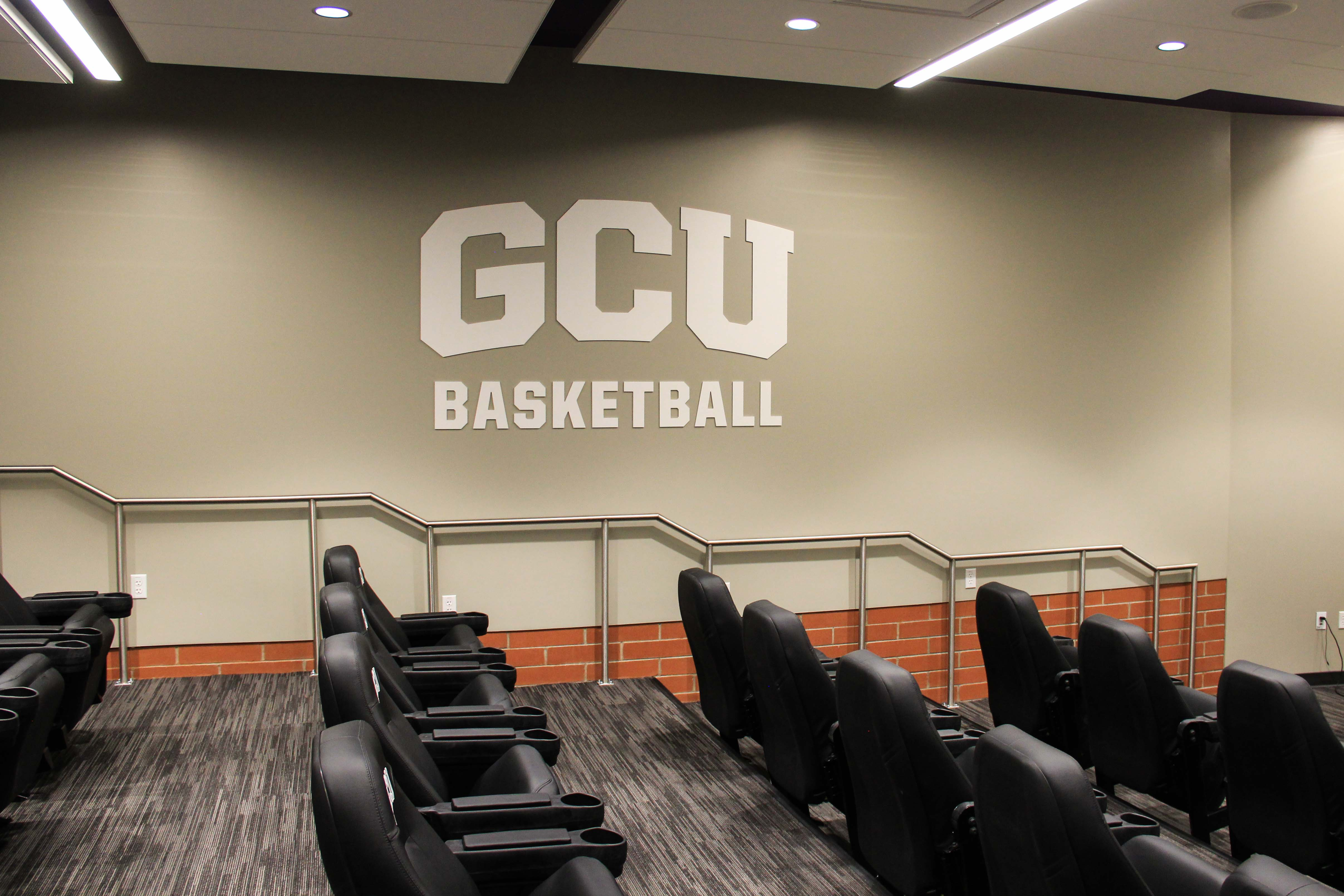 environmental graphics athletic sign