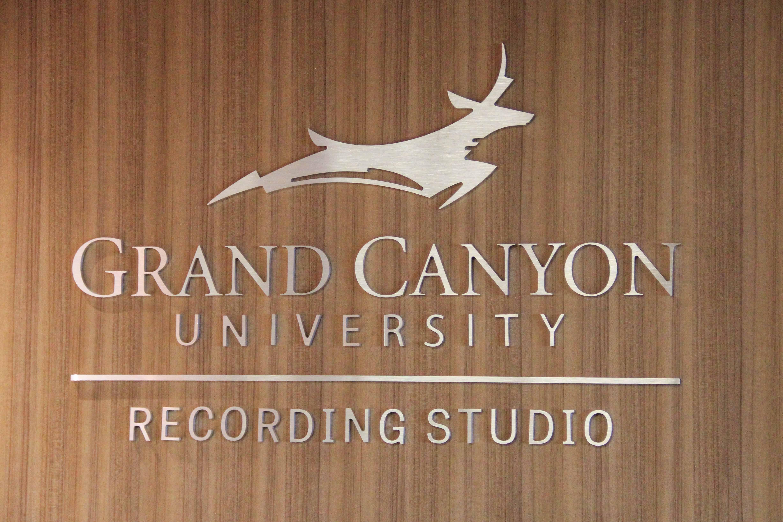 Recording Studio Environmental Graphics at GCU