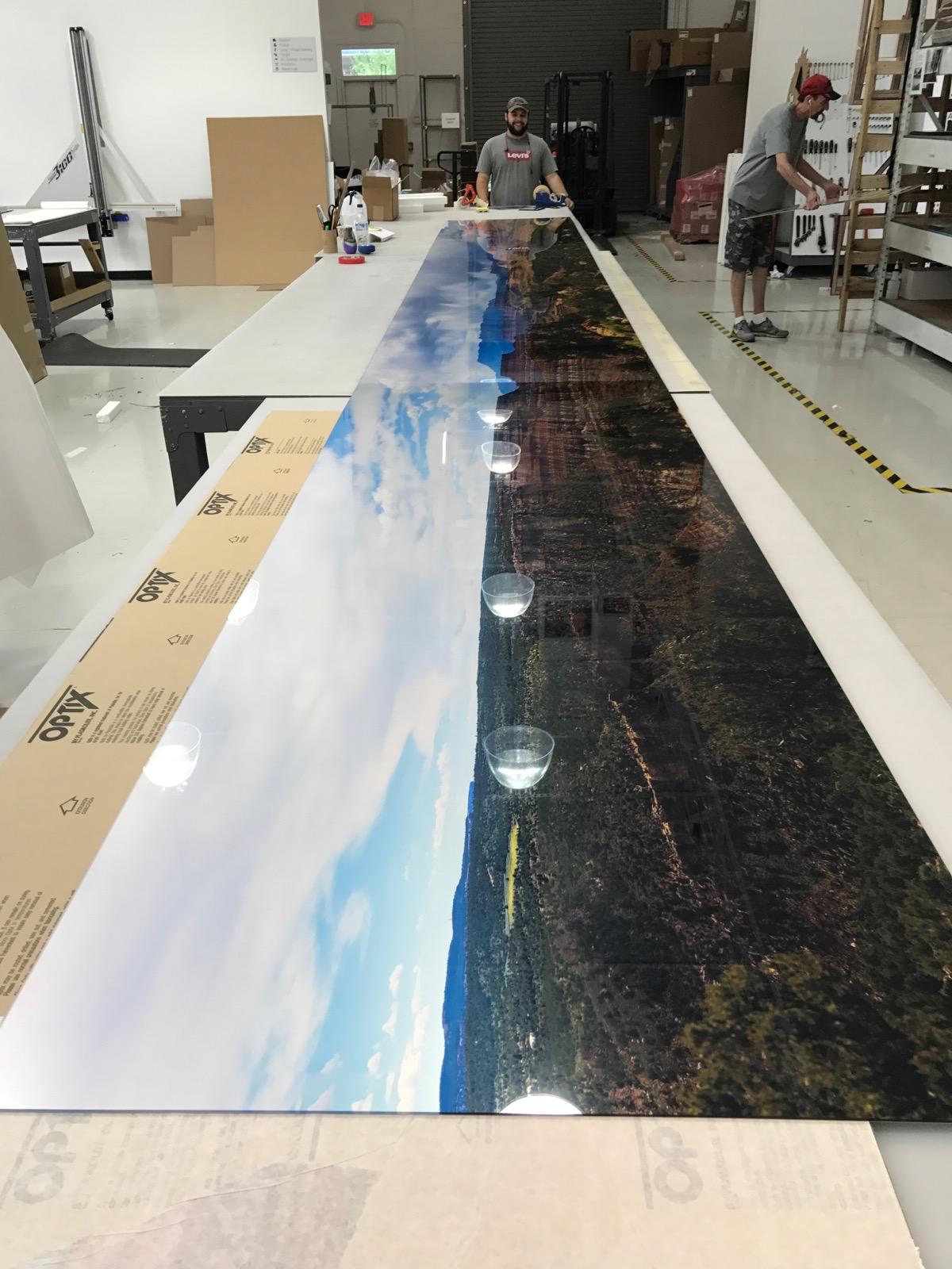 Digital art photography Pro Makes Panoramic Printing XL