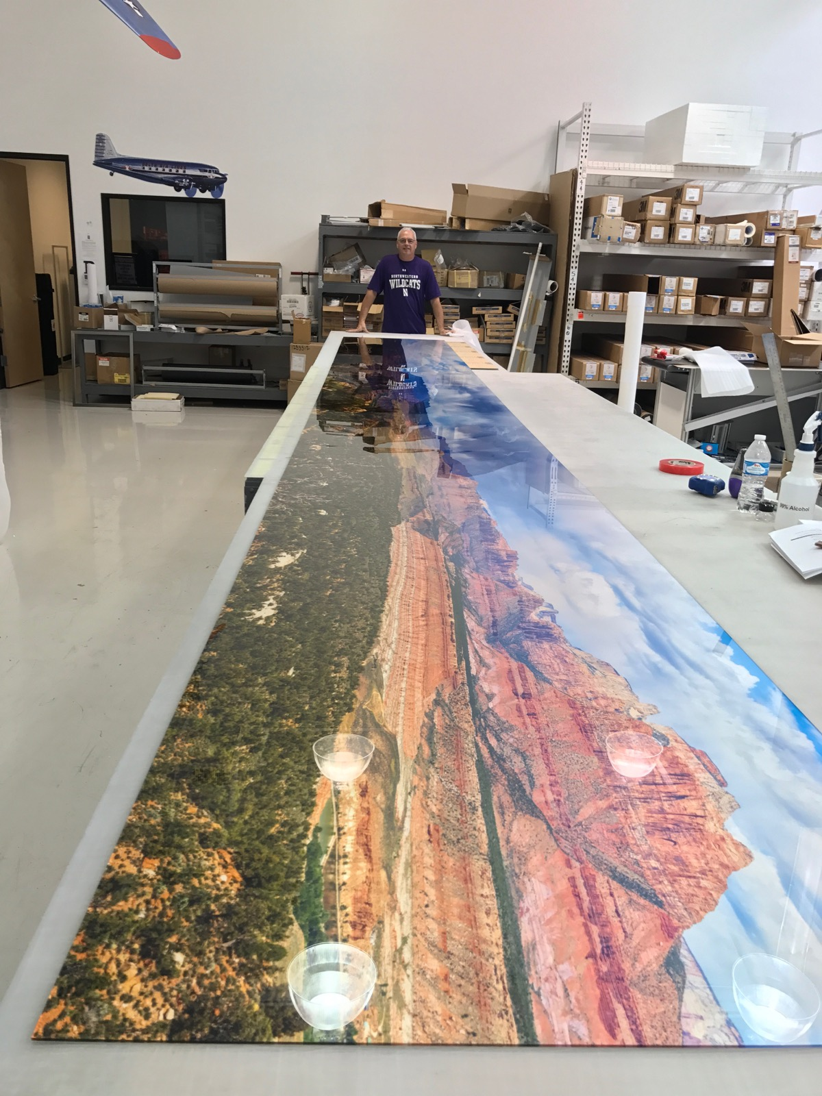 Panoramic Printing XL from a digital art photography pro