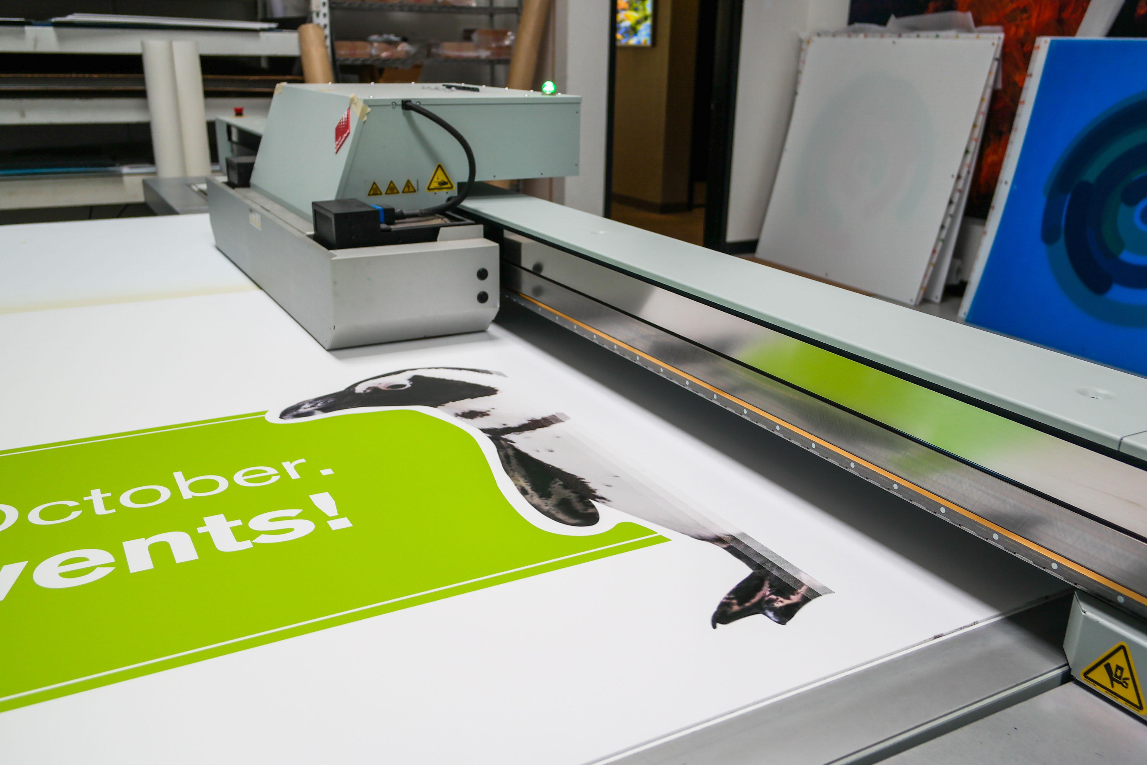 custom event signage printing