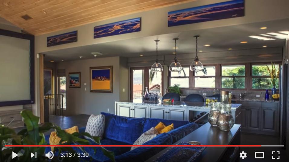 Brushed Dibond in William Shatner's home