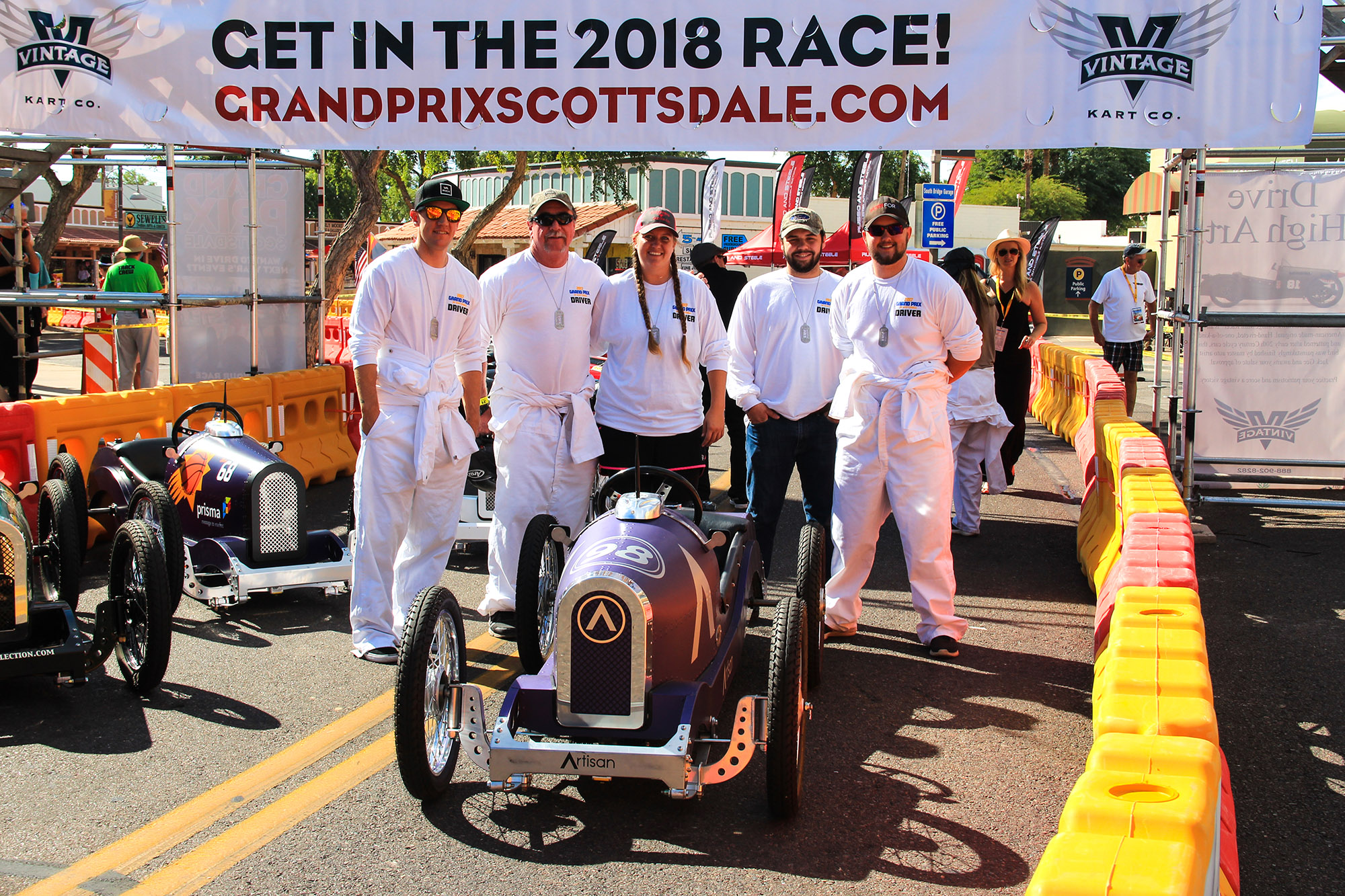 grand prix of scottsdale Artisan Racing Crew