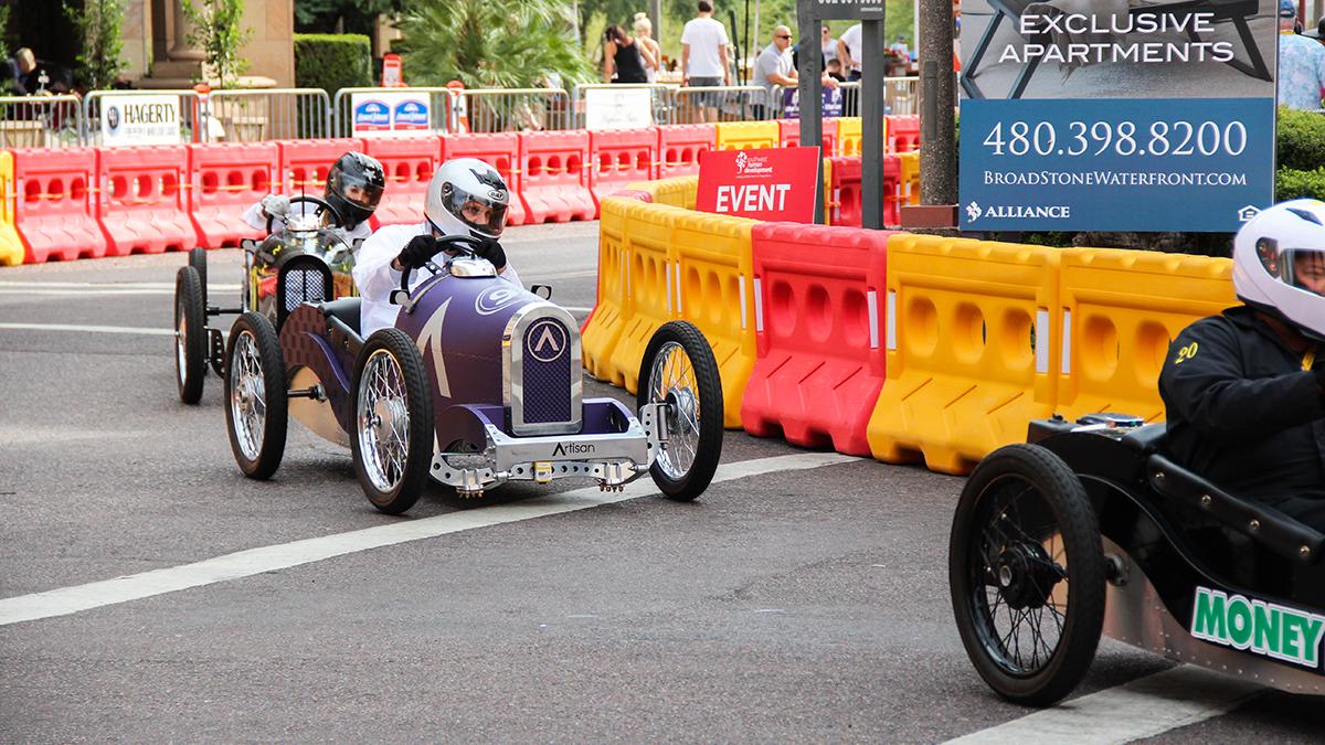 grand prix of scottsdale Artisan driver