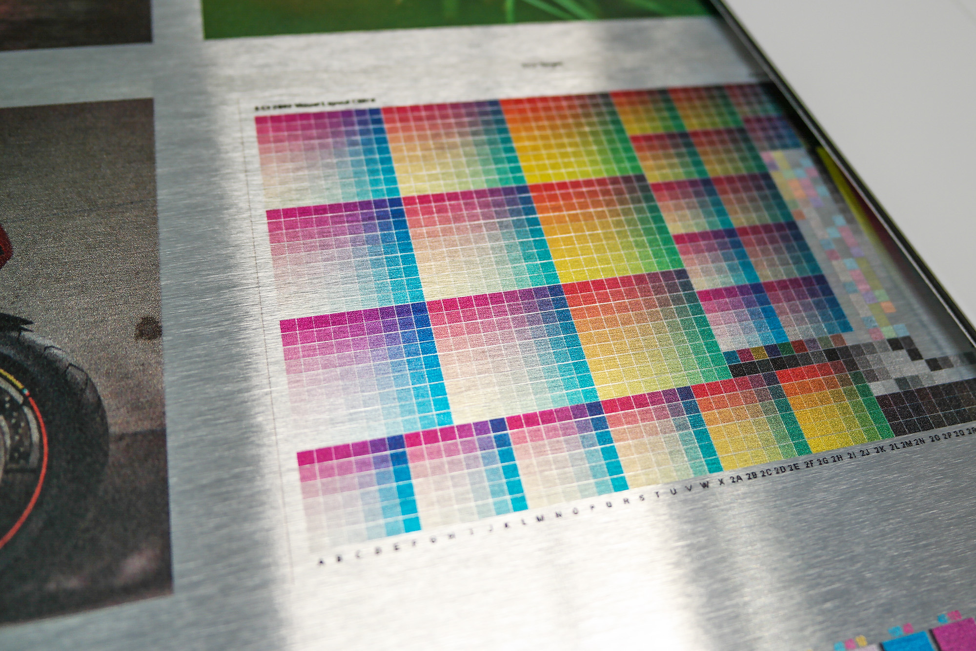 Large Format Printing With Canon Océ color check