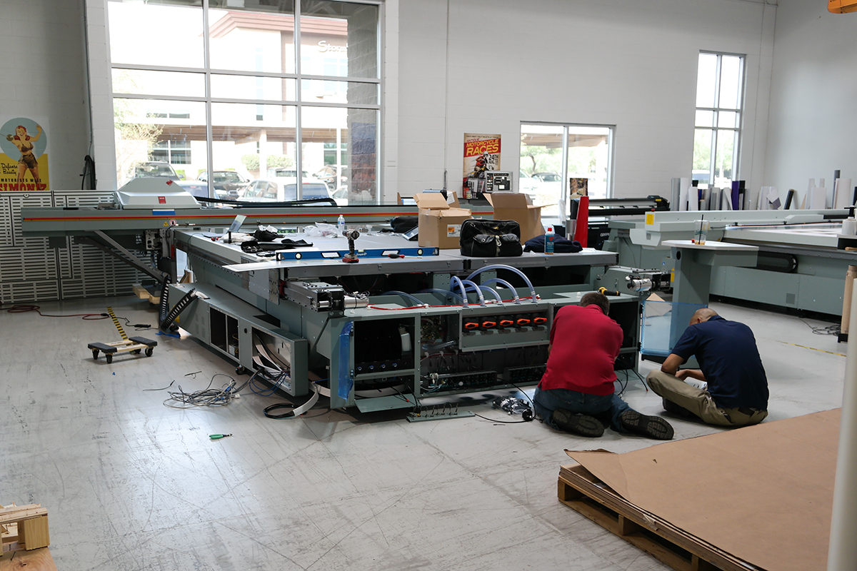 Canon Océ Printer Installation