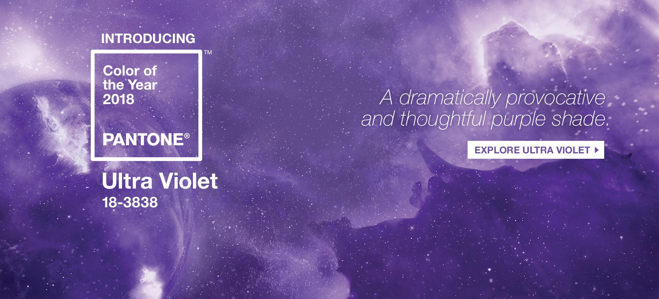 Pantone Color of the Year - Ultra Violet - Artisan Pantone Printing