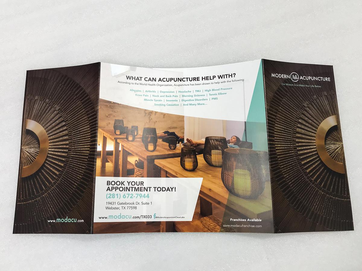 Modern Acupuncture Door Brochure Back