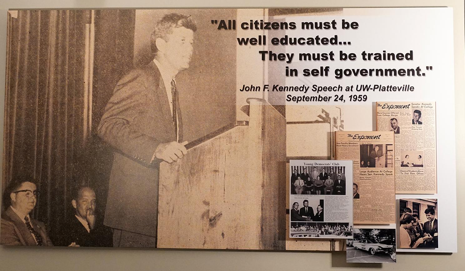 lightweight photo prints JFK photo print