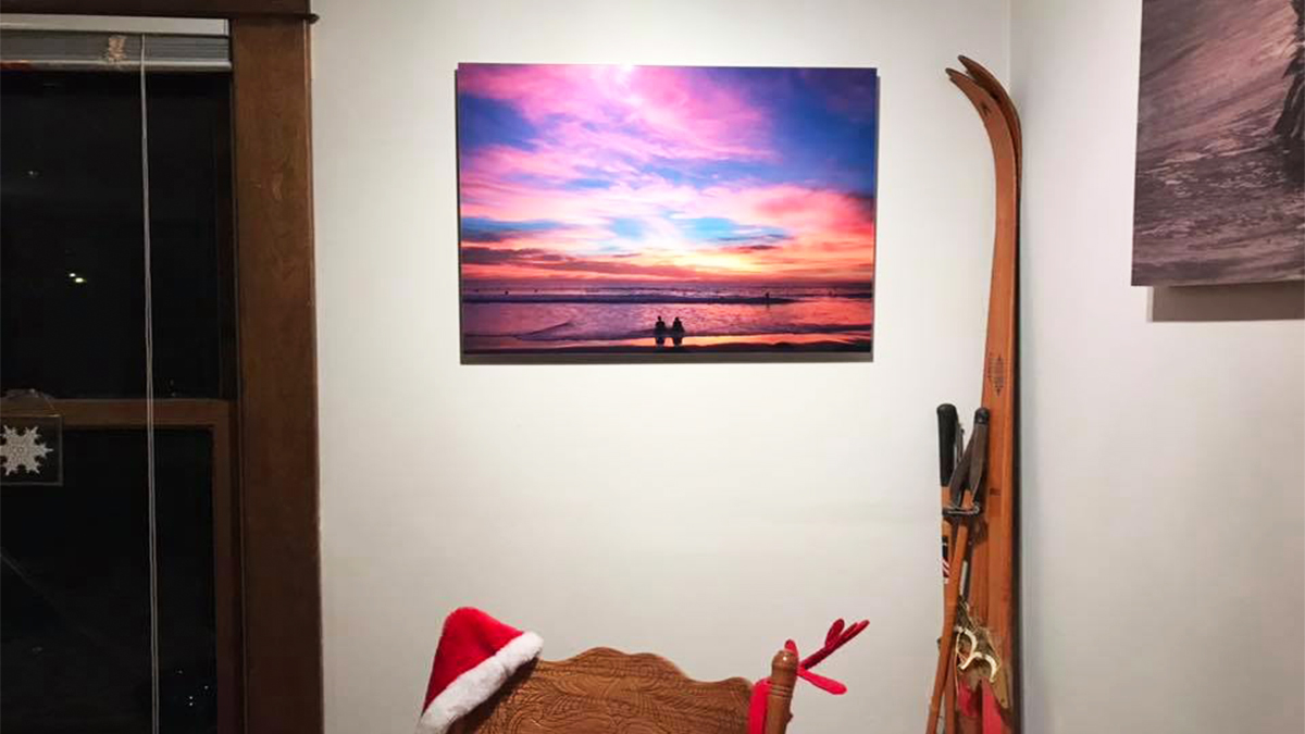 ArtisanHD Client Nature Photos Sunset Beach Acrylic Print