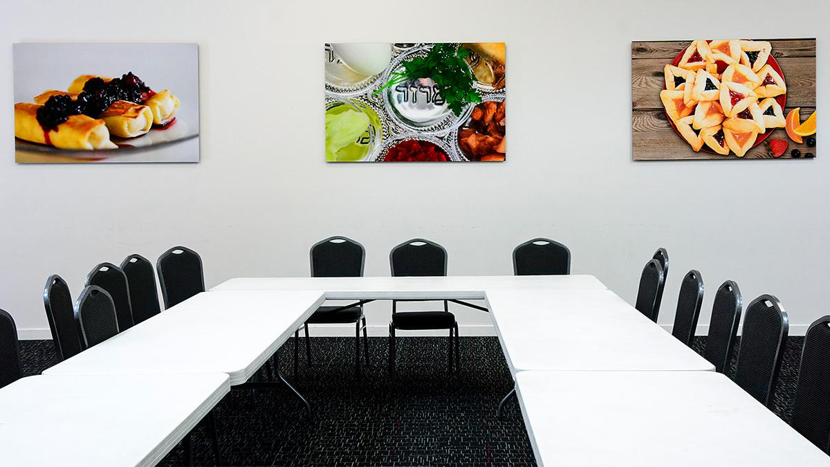 charles abrams print to acrylic three food prints artisanhd