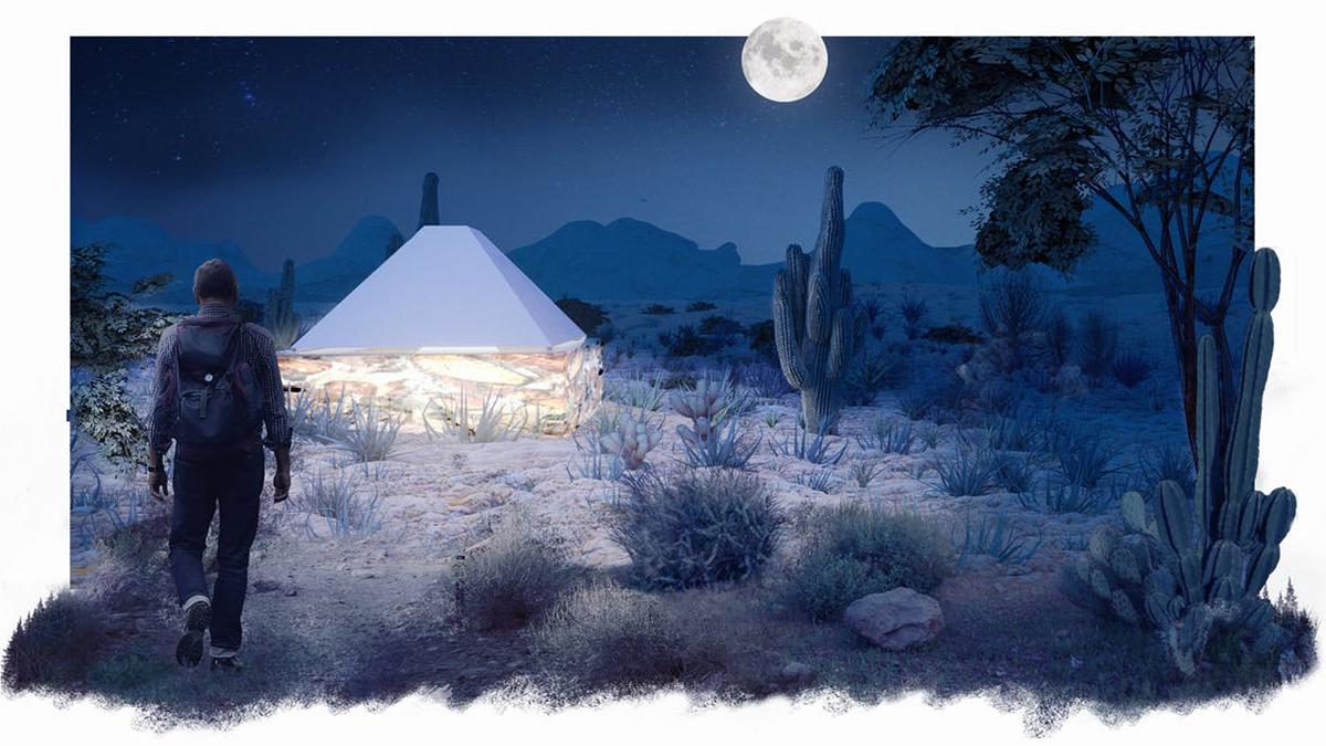 large custom art architecture project drawn night concept artisanhd
