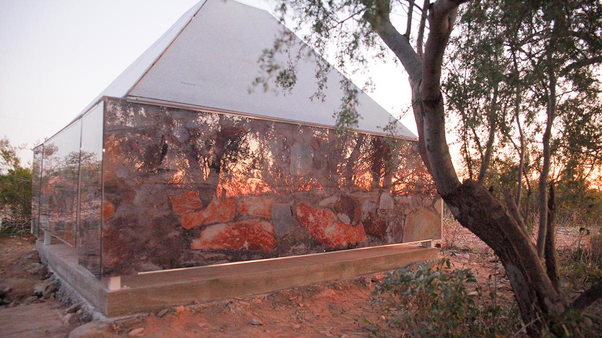 large custom art architecture project reflection panels artisanhd
