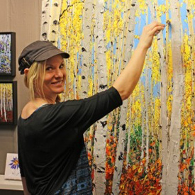 celebration of fine art show artist Jennifer Vranes Artisanhd