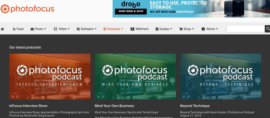 PhotoFocus Podcast photographer tips