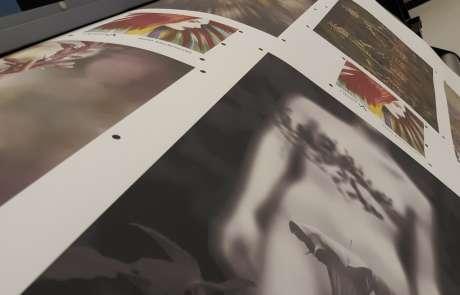 prenderglast hd metal prints in Progress on ArtisanHD Epson printer