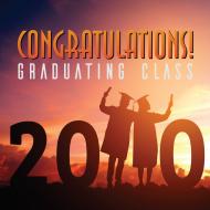 Congratulations 2020 Class free graduation photo prints graphics by AHD