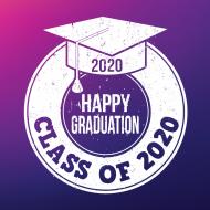 Happy Graduation Class of 2020 free graduation photo image by Artisan