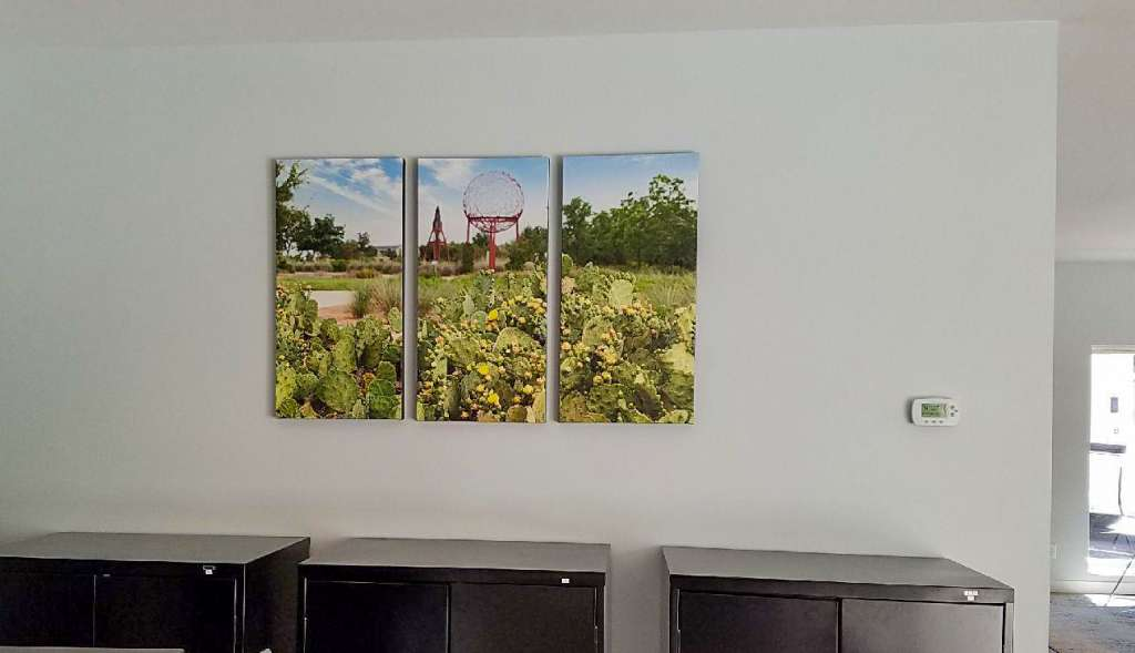 triptych canvas home office extra large photo prints