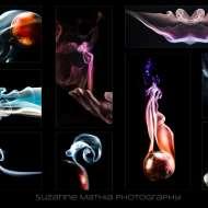 Smoke Collage by Suzanne Mathia printed by ArtisanHD web