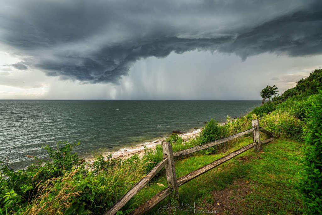 Peconic Landing Storm Approaching